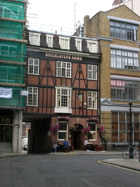 The Bricklayers Arms Fitzrovia