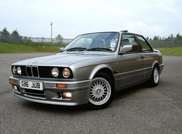A 1989 BMW 325i Sport Coupe