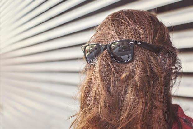 Woman Hair Sunglasses
