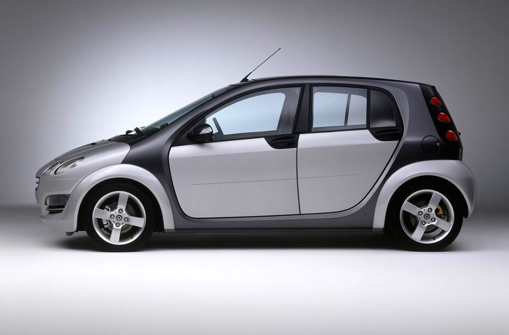 The original 2004 Smart ForFour
