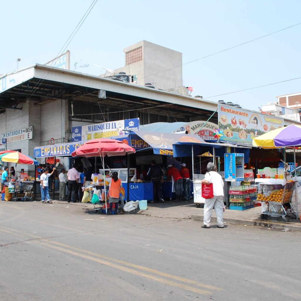 La Nueva Viga Market, Mexico City