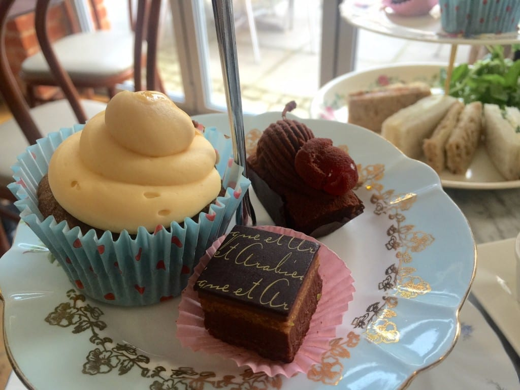 Afternoon tea at Compton Acres