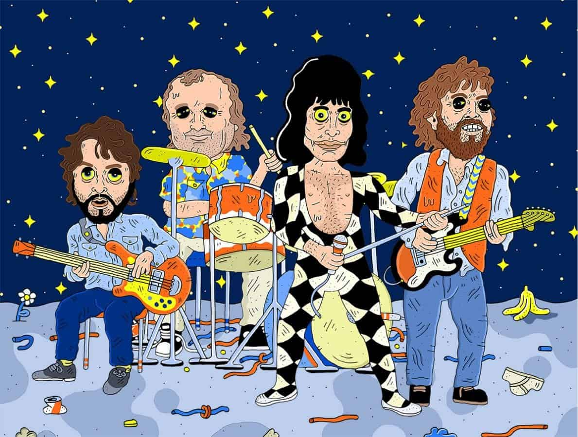 Music Fans Construct The Ultimate 70s Supergroup