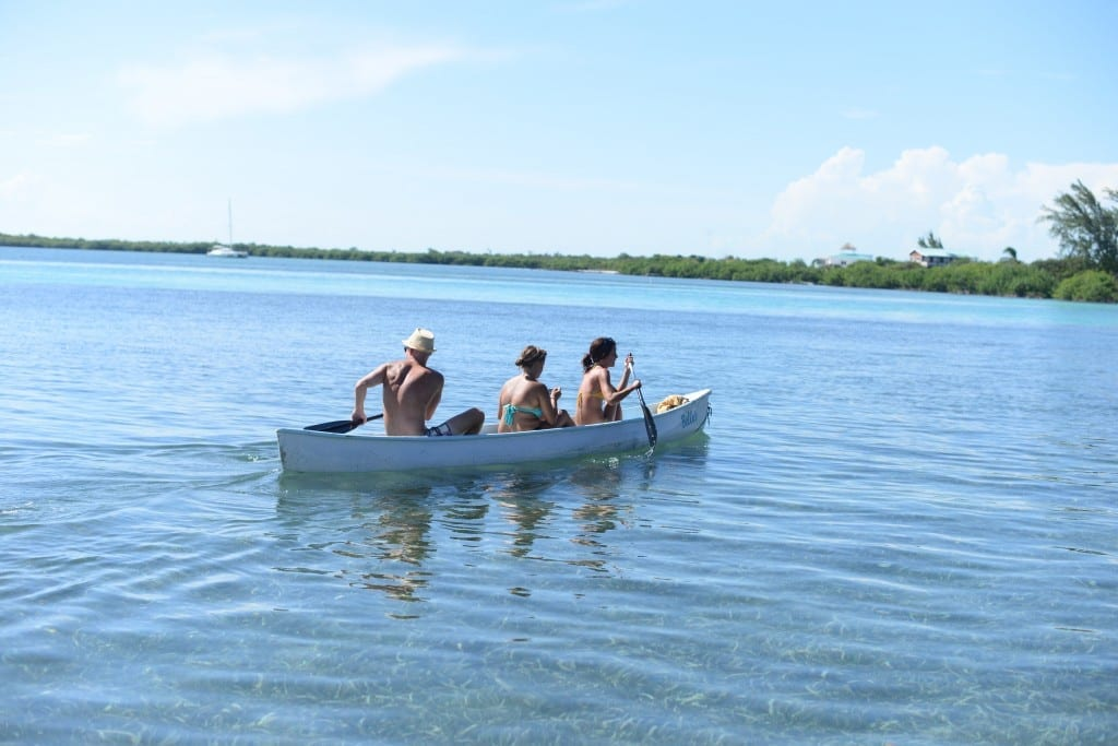 Central America canoeing