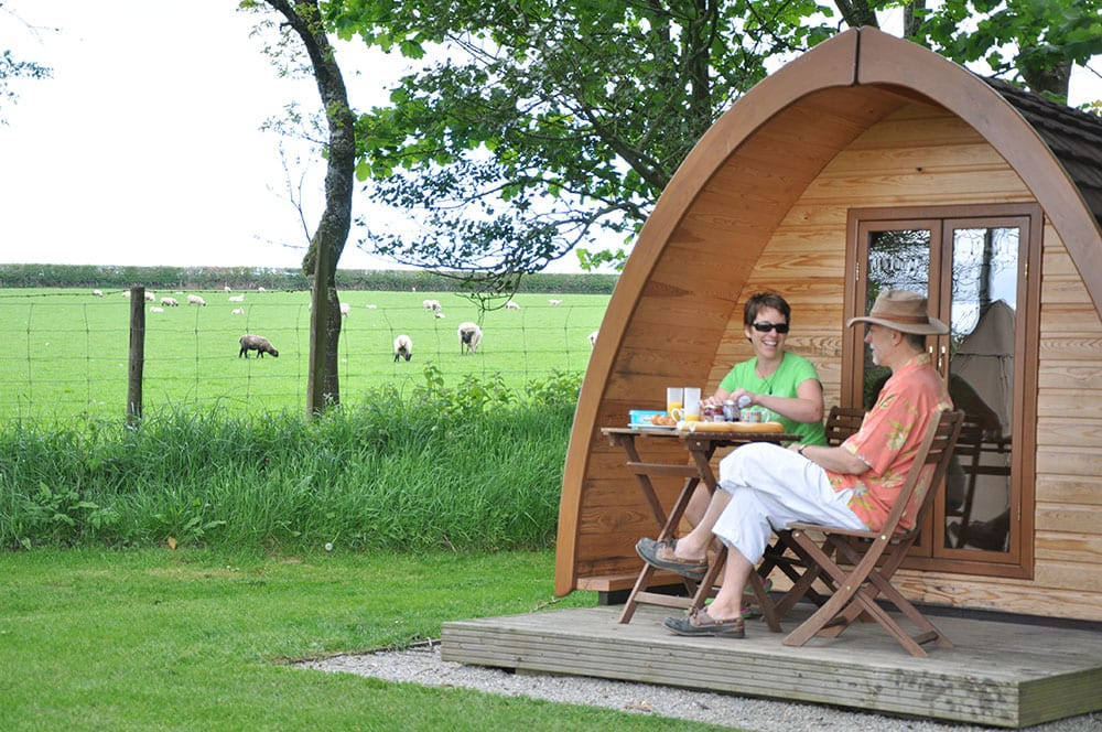 Woodovis Park's Glamping Pods