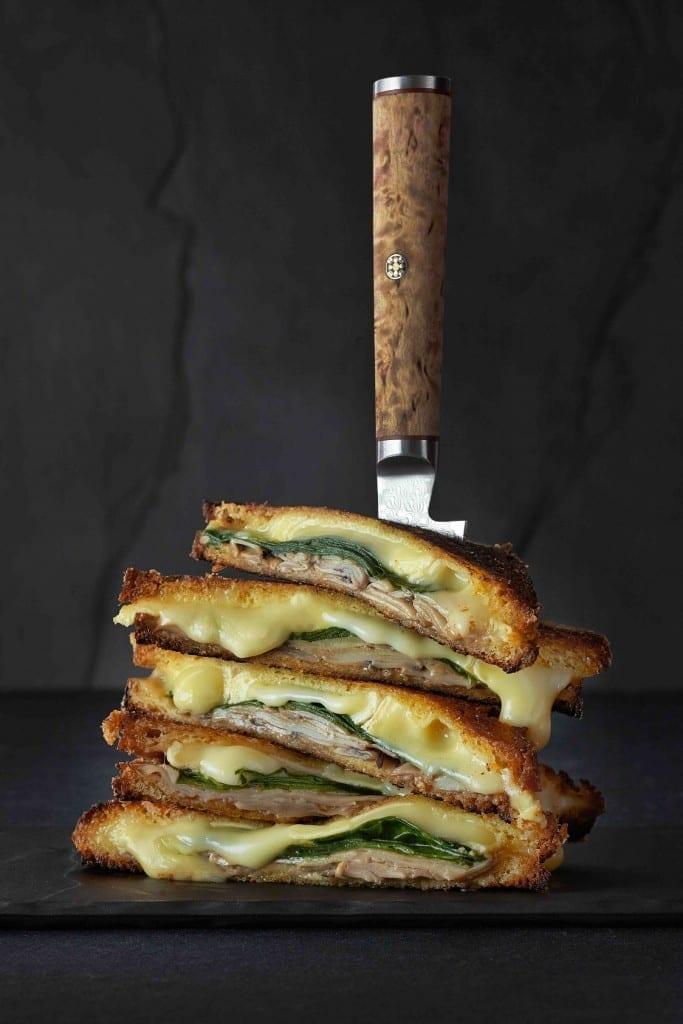 Jean Cazals, Chicken Cheese Toasty
