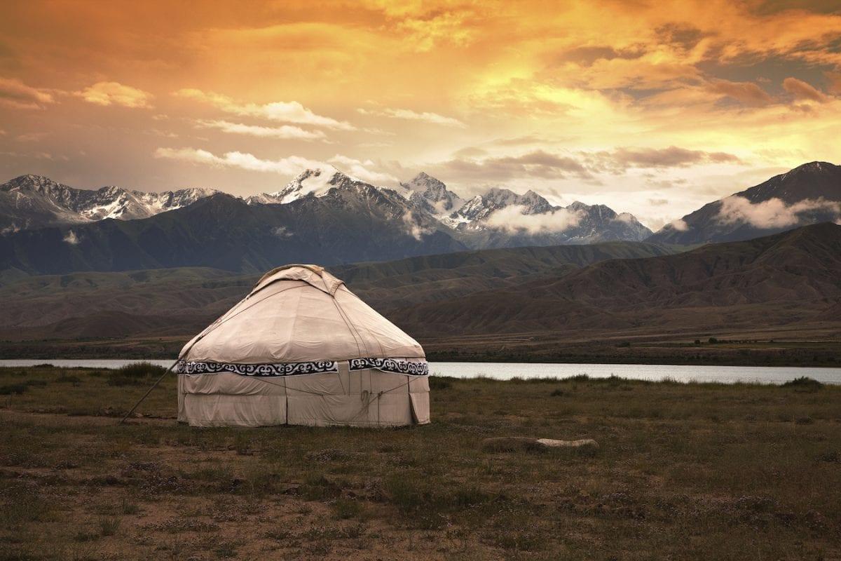 Kazakh jurt