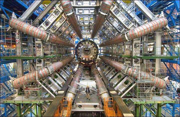 Credit: CERN [Reciprocal link back The Large Hadron Collider/ATLAS at CERN]
