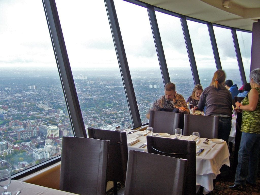 360 Restaurant at the CN Tower, Toronto