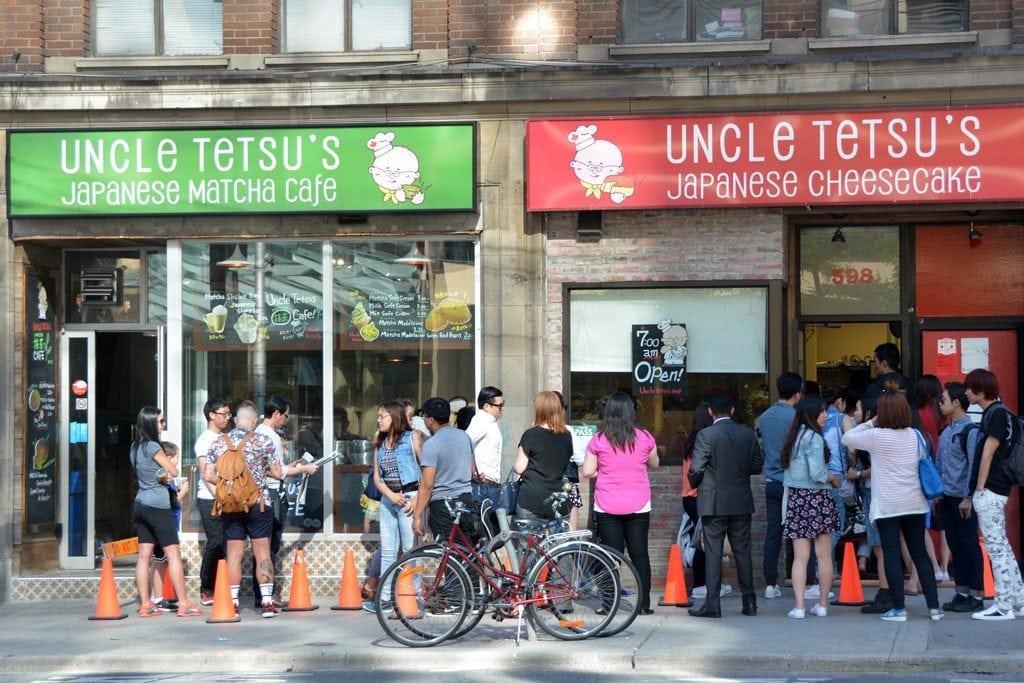 Uncle Tetsu's shops