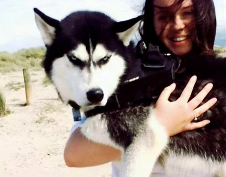 Jasmine Milton with Husky Anuko. A savvy student is funding her medical degree through her grumpy, but famous, husky. See NATIONAL story NNHUSKY. Jasmine Milton, 20, from Shropshire, has already raised ¿20,000 through two-year-old Anuko, who found fame through his steely glare. Since hitting the headlines last year, Anuko has amassed almost 11,000 Instagram followers, hundreds of gifts and even modelling jobs. But despite his fierce looks, Jasmine says he is a lovable and affectionate pet. Now she is set to spend the cash, raked in by her famous pup, on following a dream career in medicine.