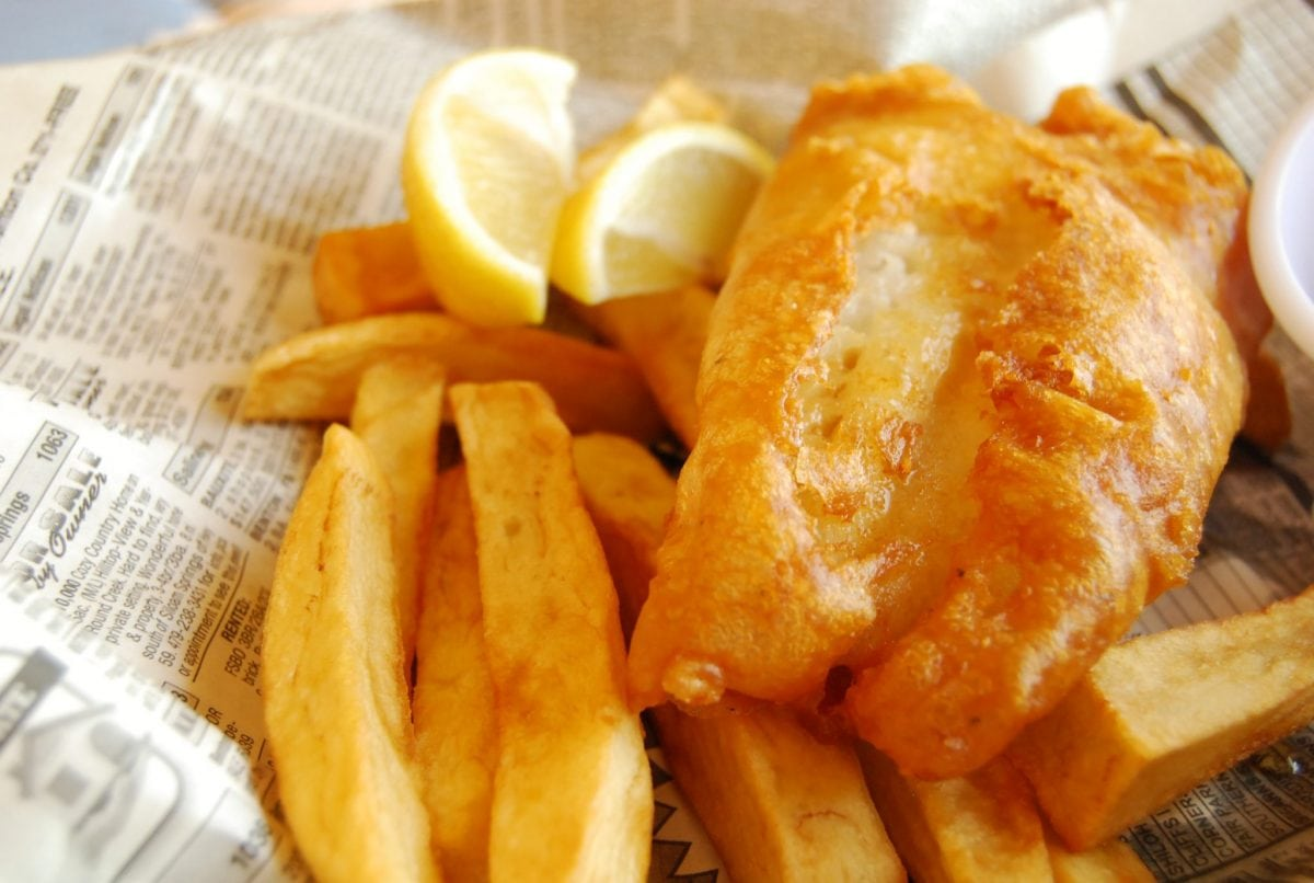 Fish and chips index reveals most cost effective plaice to for Fish and chips london