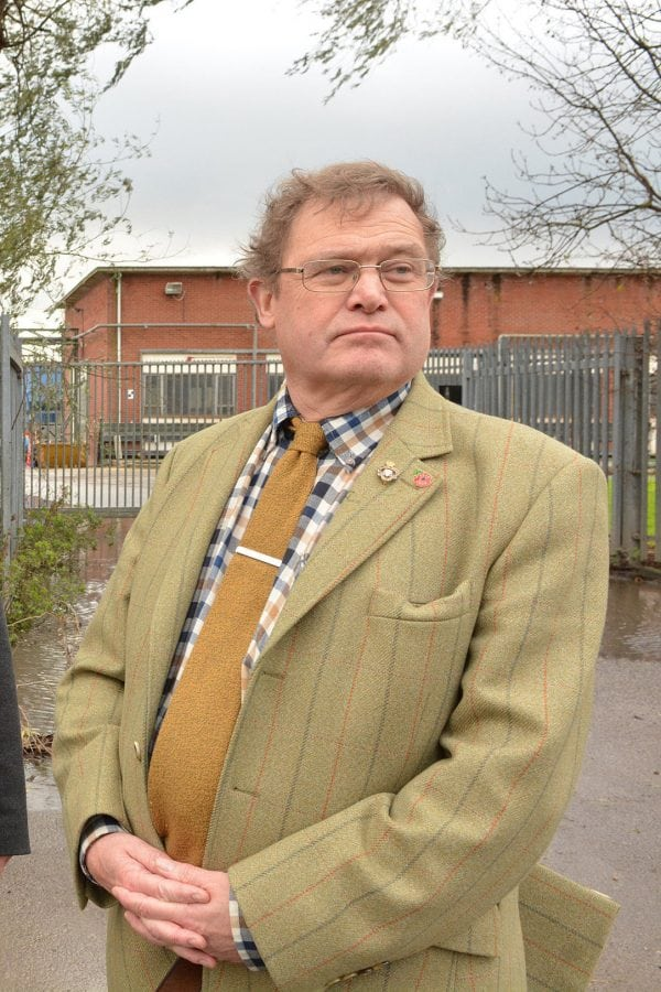 East Riding of Yorkshire Tory Councillor Dominic Peacock who has been cautioned by police for sharing a link to the memorial fund of murdered MP Jo Cox with the insenstive comment that he had donated the steam off his piss photographed at the Beverley Sewage Treatment Works. See Ross Parry copy RPYCLLR : A Tory councillor has caused uproar after disgracing Jo Cox's memorial fund by saying he had just donated - the steam from his PISS. East Riding of Yorkshire Councillor Dominic Peacock took to Facebook to ridicule Jo's mass of donations which have been received around the world. The late Labour MP's memorial reached £1m donations today (Tues) - but it was met with an unsavoury tone from Cllr Peacock, a Conservative Councillor for Minster and Woodmansey. Along with a link to the Jo Cox fund, Cllr Peacock posted: I've just donated the steam from my piss.