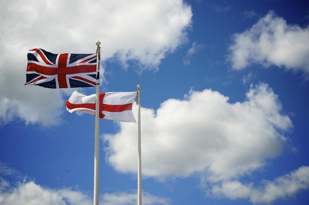 increase in english patriotism at expense of british identity