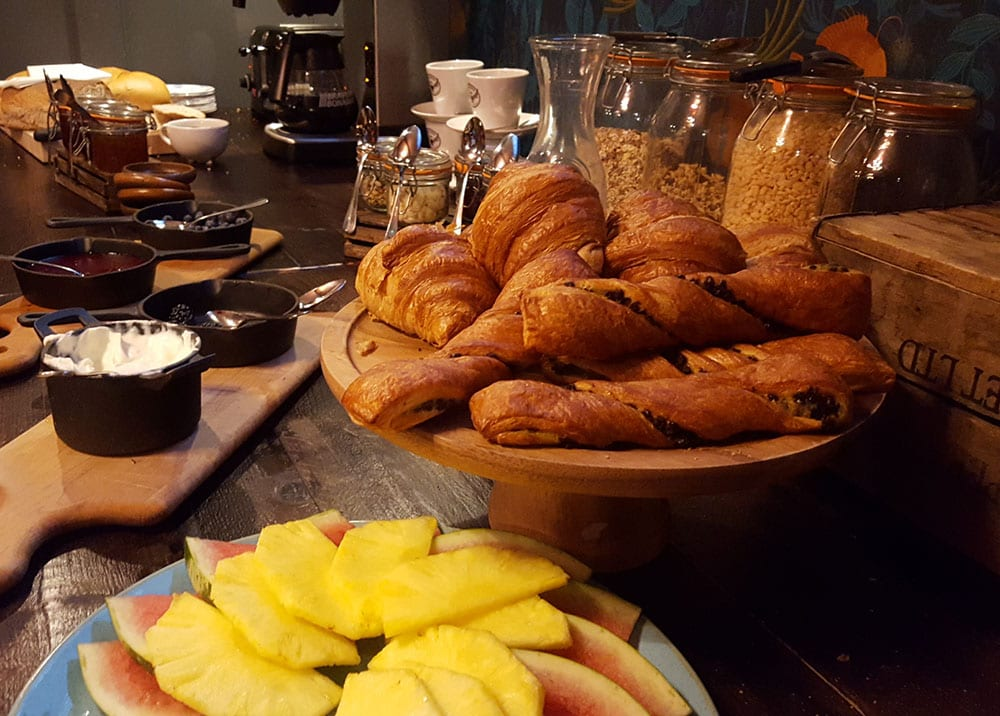 The George Townhouse: breakfast
