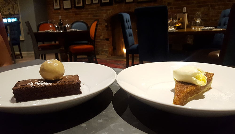 The George Townhouse: dessert