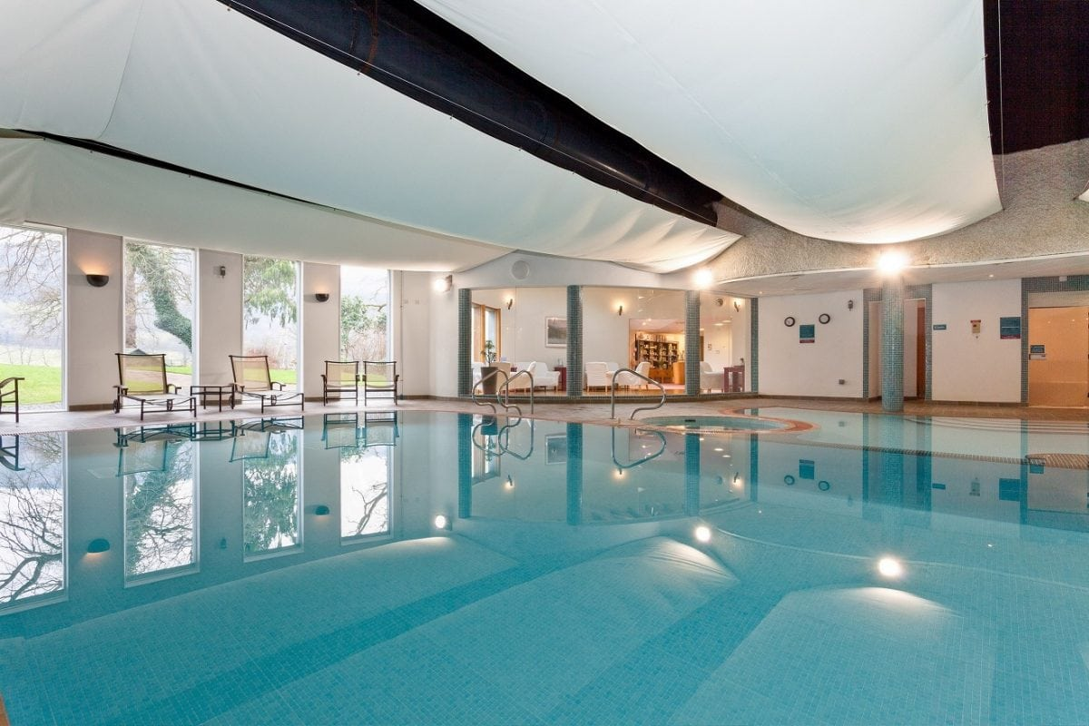 Spa and pool lakeside hotel photo the london economic for Windermere hotels with swimming pools