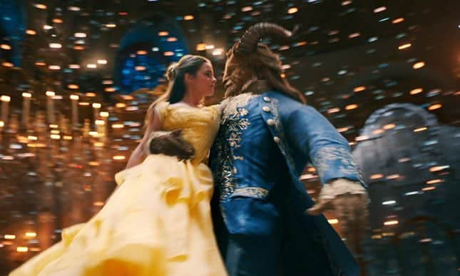 'Beauty and the Beast' sets March box office weekend record