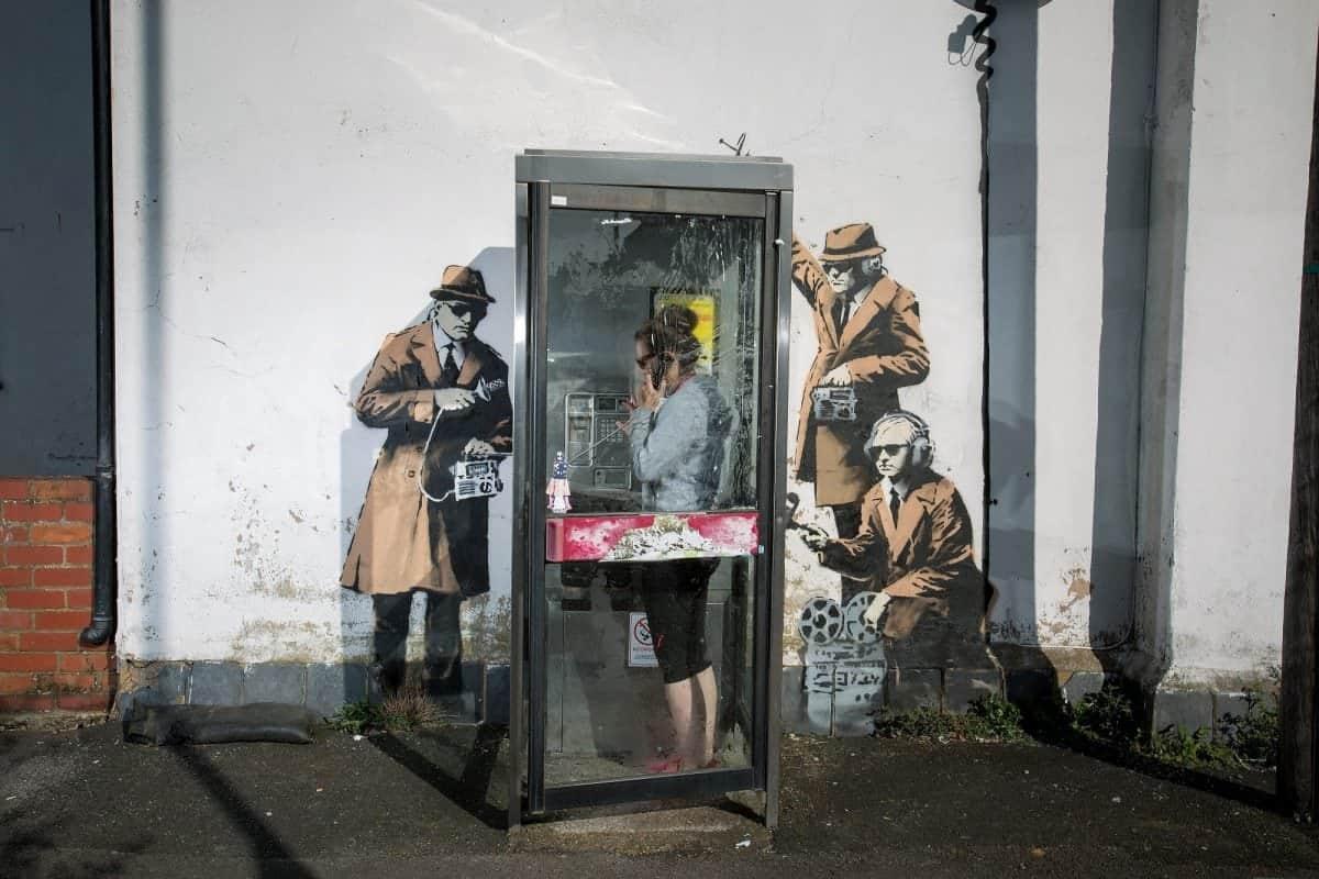 missing banksy mural up for sale on facebook the london economic missing banksy mural up for sale on facebook