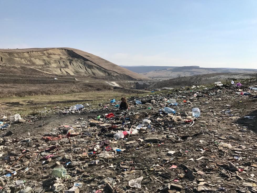 Children Survive Scavenging Waste