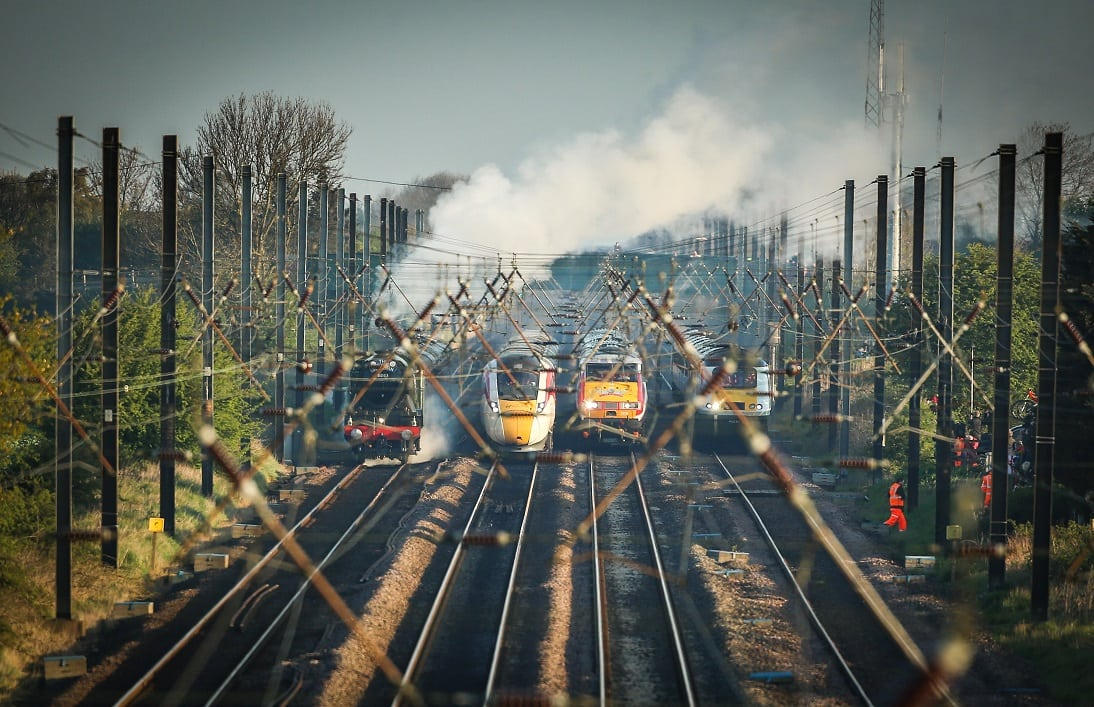 East Coast railway line through Stevenage brought back under public control