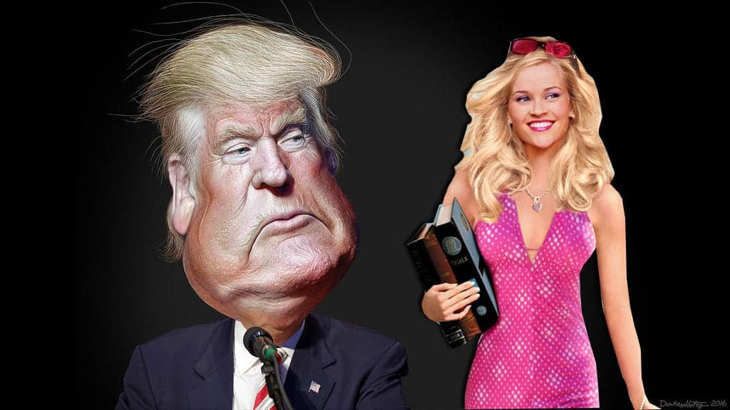 Did Donald Trump plagiarize his speech from Legally Blonde?