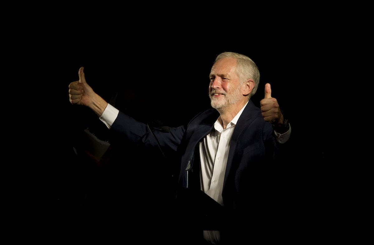Move over May! The speech by Corbyn at the Europe Together conference in Brussels