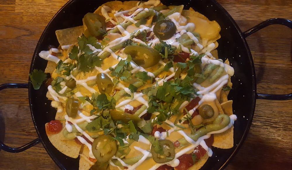 Nachos to share