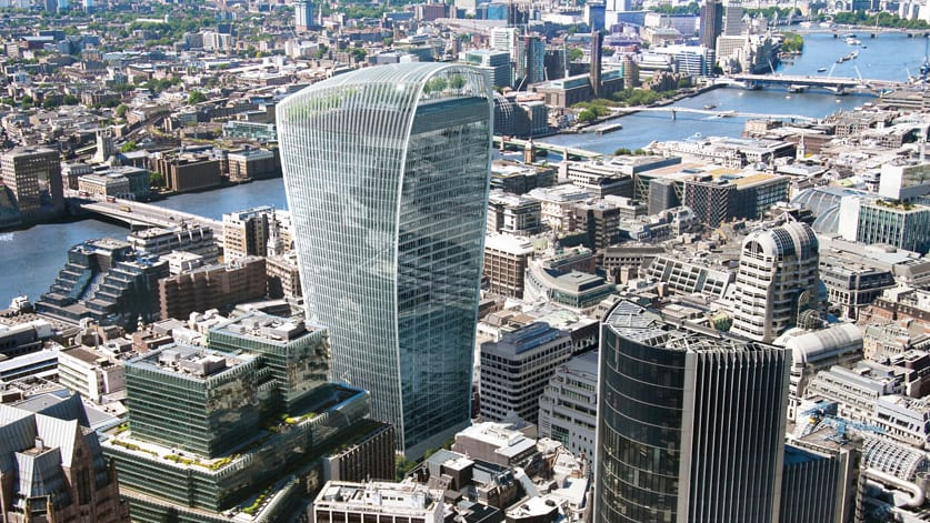 Land Securities LAND Landsec Canary Wharf Group 20 Fenchurch Street Walkie Talkie building