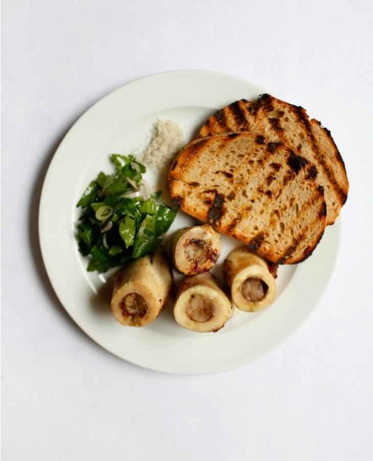 St. JOHN Bone Marrow & Parsley Salad