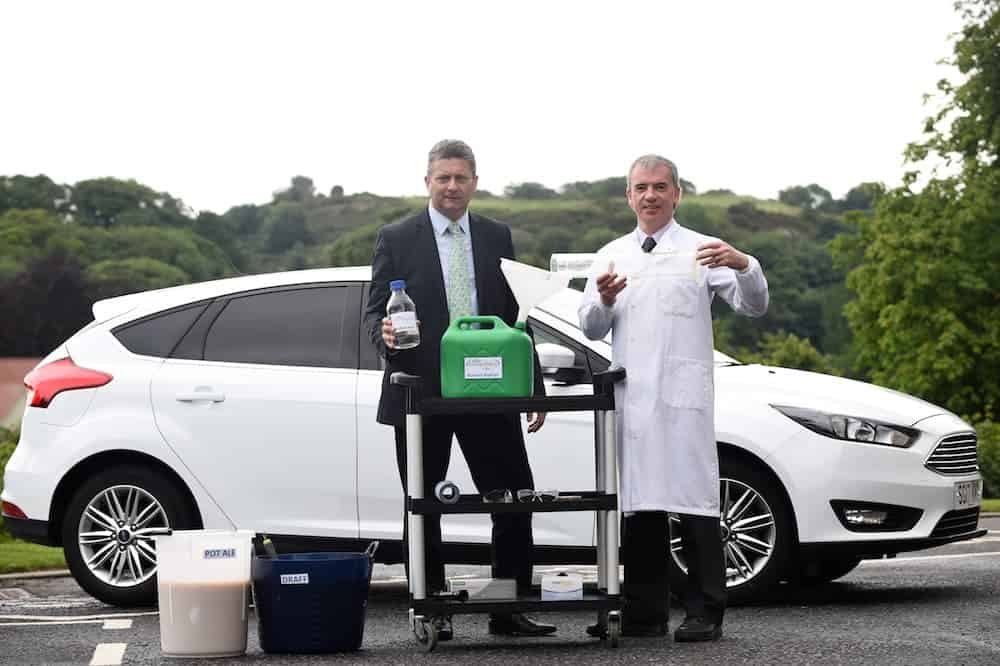 World\'s first car to be fuelled by whisky makes its inaugural journey