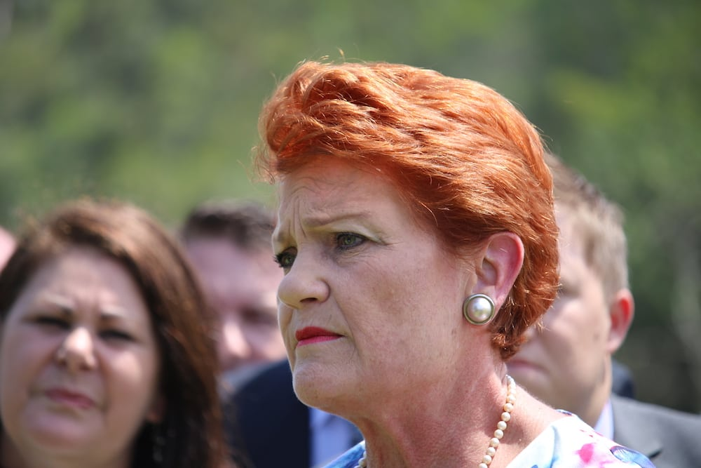 Pauline Hanson's Burqa Stunt Slammed In The Senate