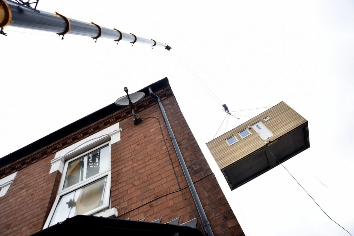 britain u0027s first u0027micro home u0027 installed to tackle the country u0027s