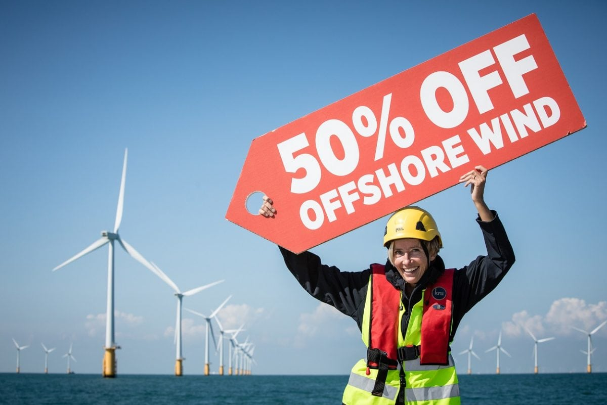 Offshore wind power cheaper than new nuclear