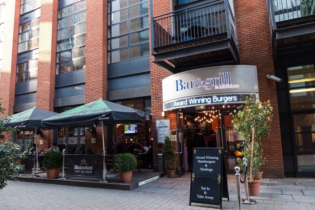 Top ten sports bars in London