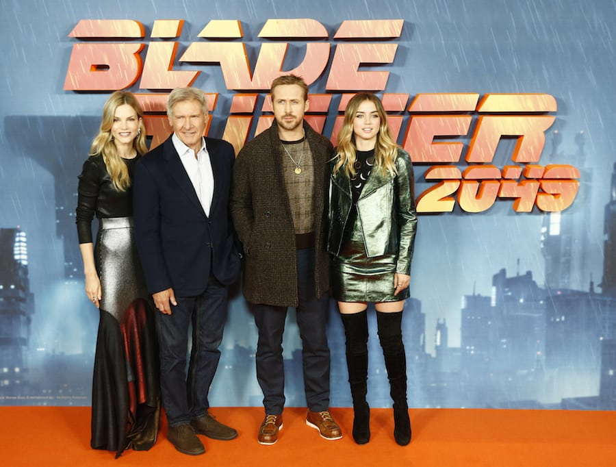 In Pics Ryan Gosling Harrison Ford Sylvia Hoeks And Ana De Armas For Blade Runner 2049 The
