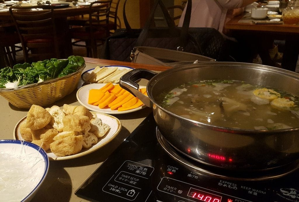 Hot Pot broth cooking