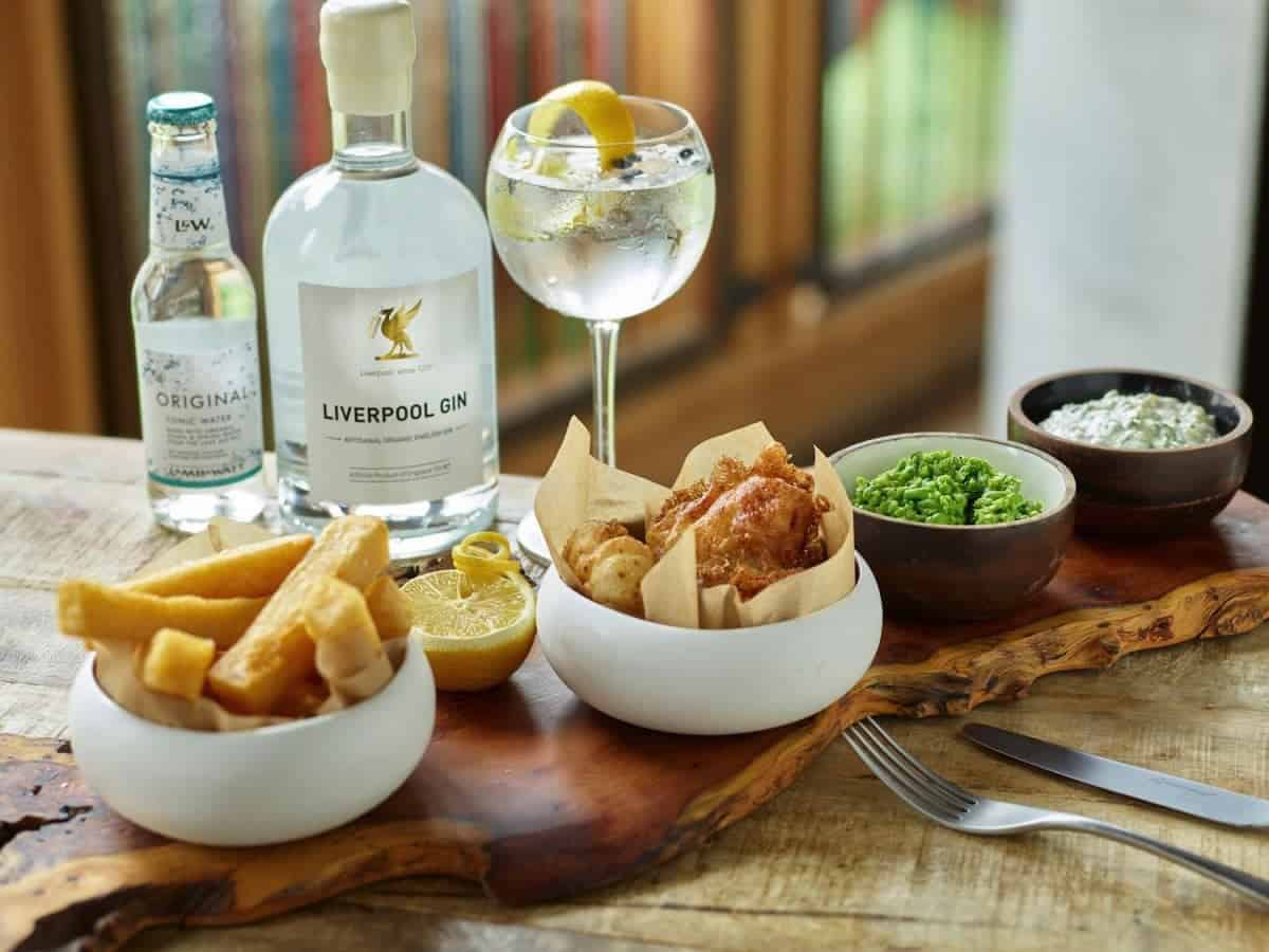 How to make gin fish chips for How to make fish and chips