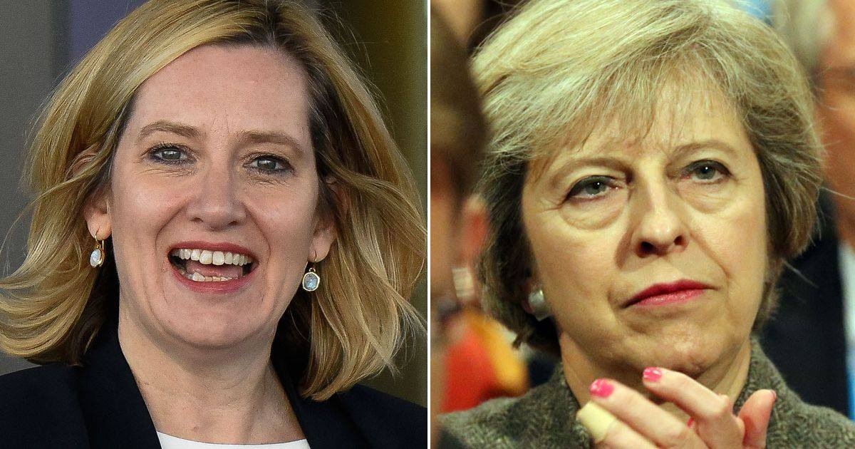 Home Secretary Amber Rudd Prime Minister Theresa May