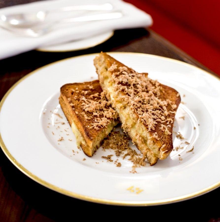 45 Jermyn St. - Truffle Toasted Cheese Sandwich