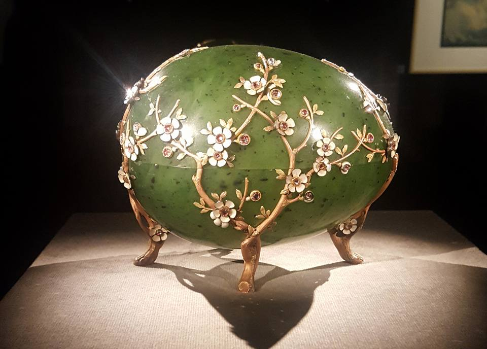 The largest Faberge egg