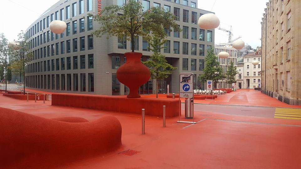 Pipilotti's work in St Gallen