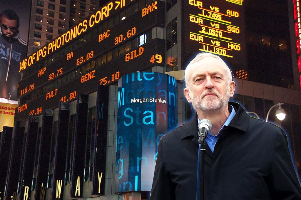 Jeremy Corbyn To Morgan Stanley Bank Quot You Re Right We