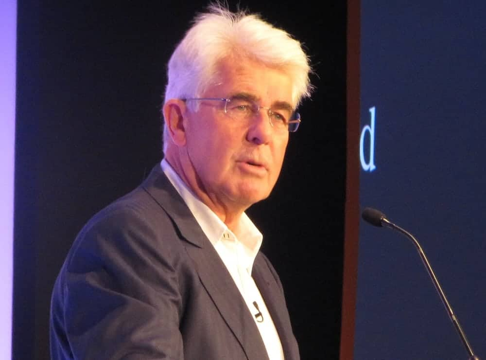Disgraced celebrity publicist Max Clifford dies aged 74 after collapsing in prison