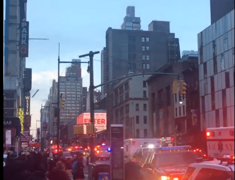 NY explosion: 1 in custody after blast at Port Authority bus station