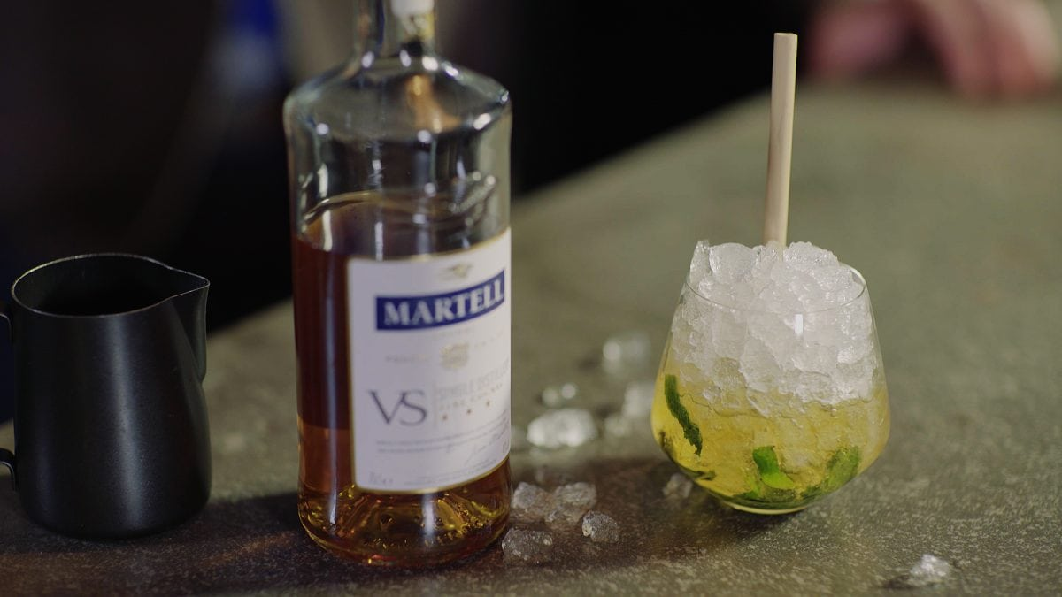 Martell Mint Julep Cocktail