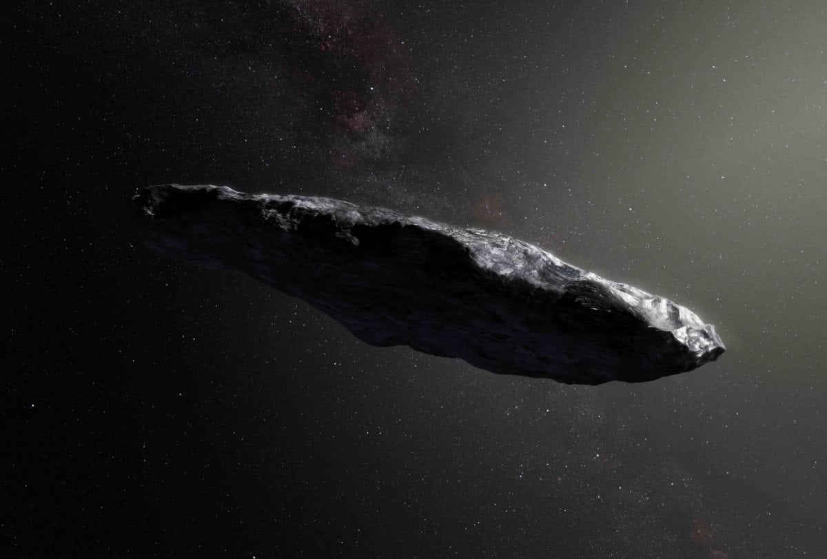 Oumuamua the space gherkin
