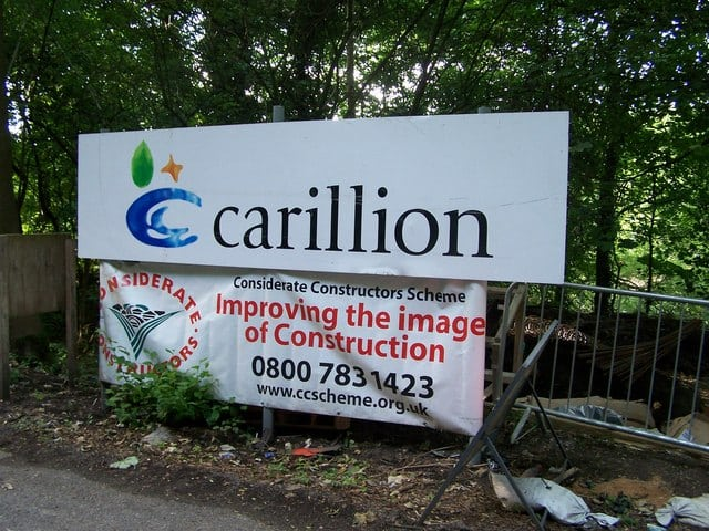 UK Prepares Contingency Plans for Public Carillion Projects