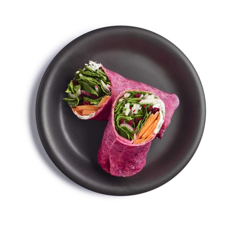Tesco Wicked Kitchen Carrot Pastrami Wrap