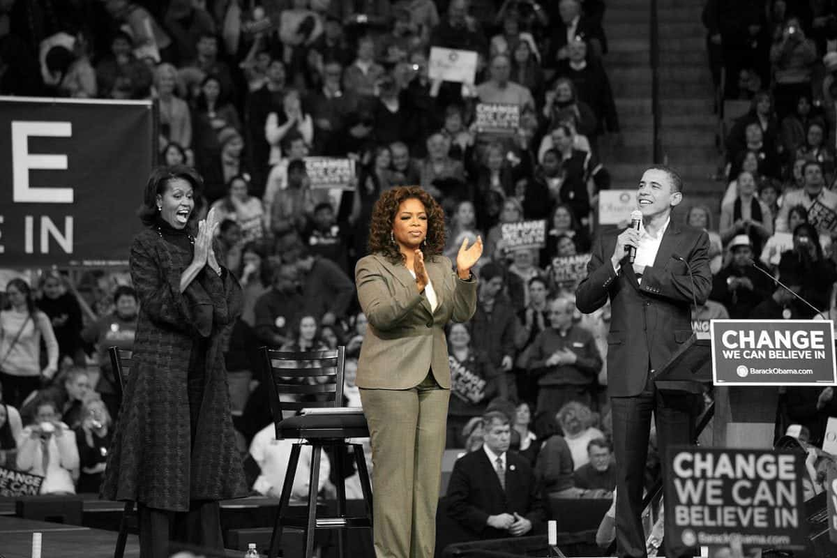 Oprah was once Trump's pick for vice president